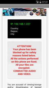 Virus Police ataca Android